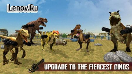 Dinosaur Battle Survival 2019 v 2.2 Мод (Free Shopping)