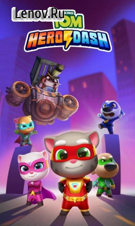 Talking Tom Hero Dash v 1.6.0.925 (Mod Money)