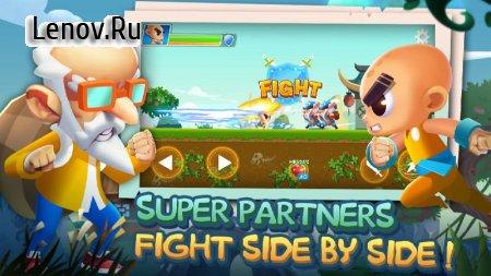 Super Brawl Heroes v 1.3.1.107 Мод (Free Shopping)