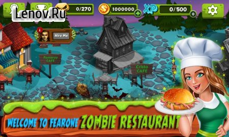 Restaurant Mania : Zombie Kitchen v 1.12 Мод (Free Shopping)