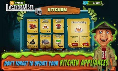 Restaurant Mania : Zombie Kitchen v 1.12 Мод (Free Shopping)