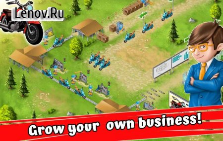 Idle Motorcycle Factory v 0.4 Мод (Unlimited Cash/Diamonds)