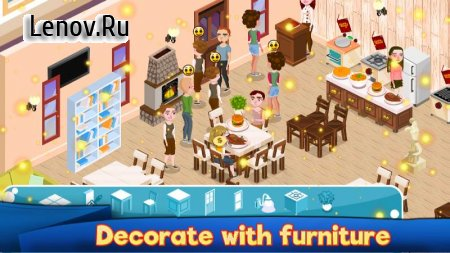Cafe Management my Restaurant Business Story Food v 1.0.3 Мод (Free Shopping)