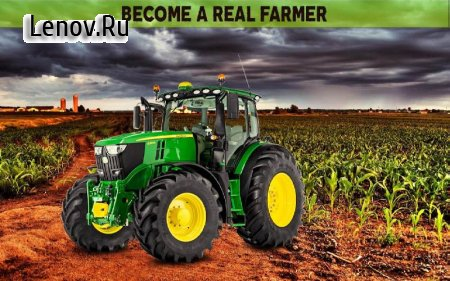 Farming Simulator 19: Real Tractor Farming Game v 1.1 Мод (много денег)