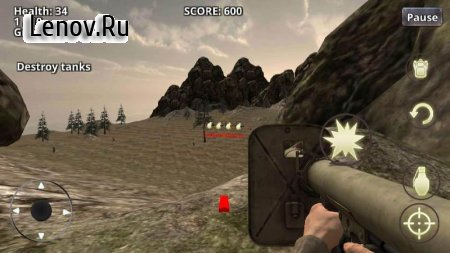 War Battleground WW2 Shooter v 1.0 Мод (Unlocked)