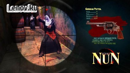 Nun : The Horror Game v 1.2 Мод (Unlock all Levels/Guns)