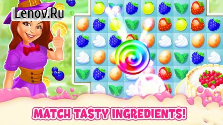 Bake a Cake Puzzles & Recipes v 1.6.0 (Mod diamond/coins)