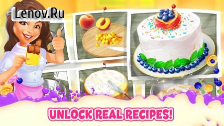 Bake a Cake Puzzles & Recipes v 1.5.3 (Mod diamond/coins)