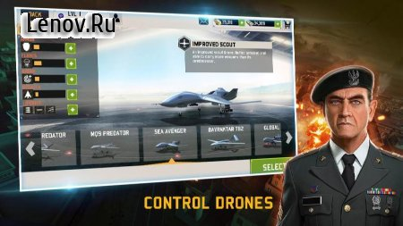 Drone : Shadow Strike 3 v 1.3.148 Мод (+10000 gold and cash after each mission)