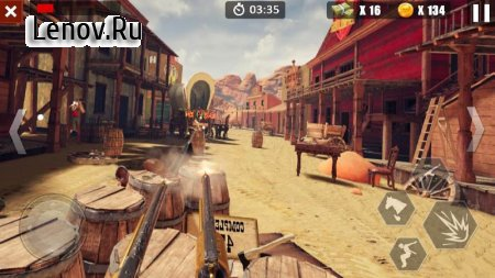 Cowboys Adventure v 1.1.3 Мод (Unlimited Gold Coins/Diamonds)