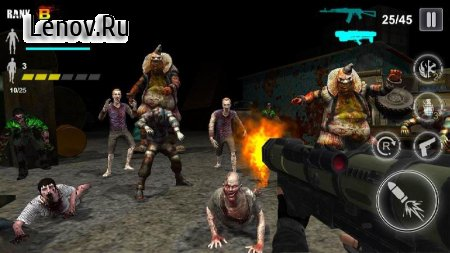Zombie Shooter - Survival Games v 1.10 Мод (Unlimited Gold Coins/Diamonds)