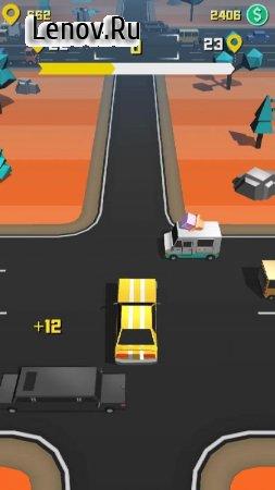Taxi Run v 1.25 Мод (Unlocked)