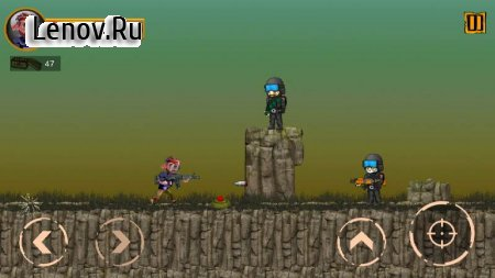 Metal Strike: Shooting Soldiers 2D v 1.1 Мод (Unlock all related cards)