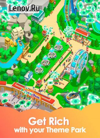 Idle Theme Park - Tycoon Game v 2.4.2 Mod (Unlimited Money)