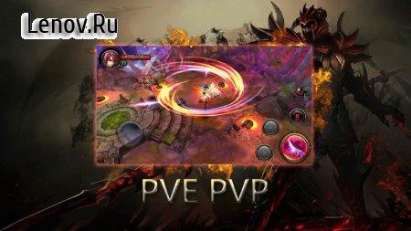 Dragons War Legends - Raid shadow dungeons v 6.9 Mod (God Mode/Enemies Low Attack)