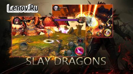 Dragons War Legends - Raid shadow dungeons v 6.9 (God Mode/Enemies Low Attack)