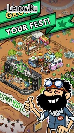 Bud Farm: 420 v 1.8.4 (Mod Money/Change XP/coins  for every order)