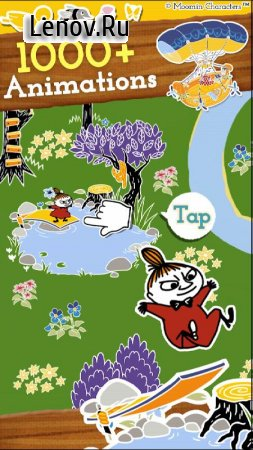 MOOMIN Welcome to Moominvalley v 5.12.0 Мод (Upgraded to level 2 to get a lot of rubies)