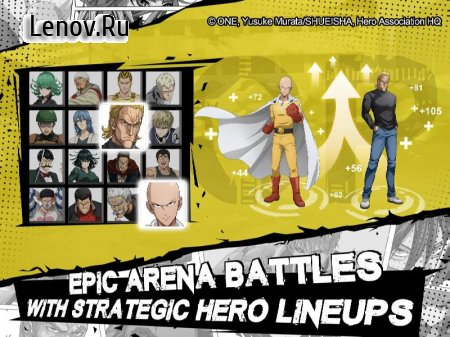 One Punch Man : Road to Hero v 2.1.10 Мод (DMG/DEF MUL)