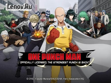 One Punch Man : Road to Hero v 1.8.0 Мод (DMG/DEF MUL)