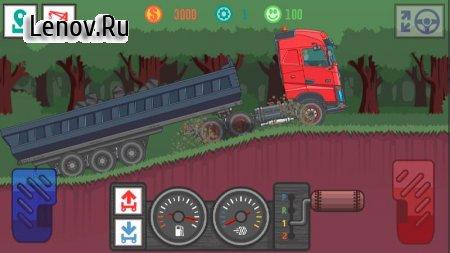 Best Trucker Pro v 1.09 Мод (Free Shopping)