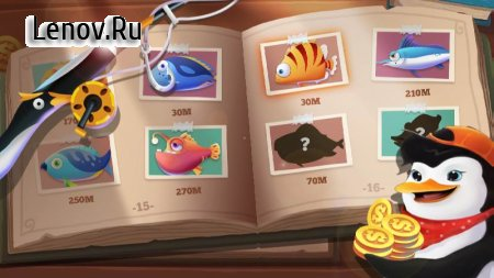 Fisherman Go! v 1.2.0.1006 Мод (Unlimited gold coins)
