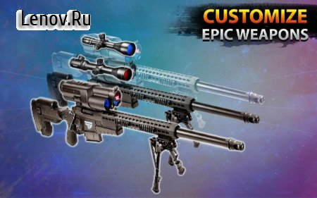 New Sniper Shooting –Assassin Free Shooting Games v 1.84 Мод (Free Shopping)