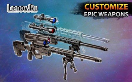 New Sniper Shooting –Assassin Free Shooting Games v 1.89 Мод (Free Shopping)