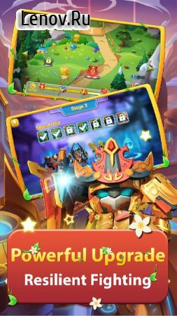 Superhero Fruit 2: Robot Fighting - Future War v 1.0 Мод (Unlimited Gold Coins/Diamonds)