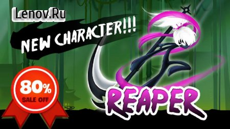 Stickman Revenge 3: League of Heroes v 1.1.8 Мод (Free upgrade/Summons)