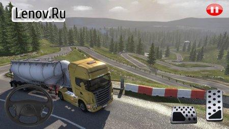 Euro Truck Simulator Offroad Cargo Transport v 8.0 (Mod Money/Unlocked)