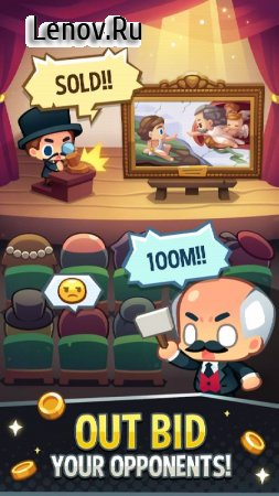 Art Inc. - Trendy Business Clicker Adventure v 1.14.7 Мод (много денег)