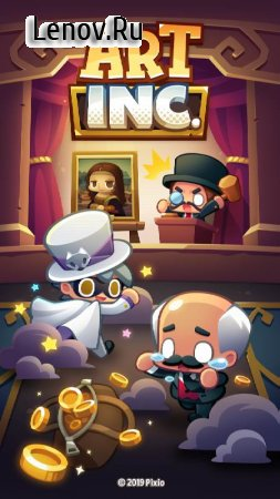 Art Inc. - Trendy Business Clicker Adventure v 1.14.6 Мод (много денег)