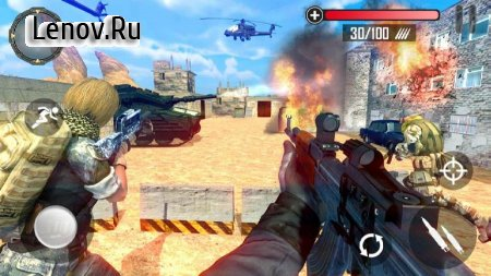 Counter Attack FPS Battle 2019 v 1.1 Мод (Unlimited gold coins/All weapons unlocked)
