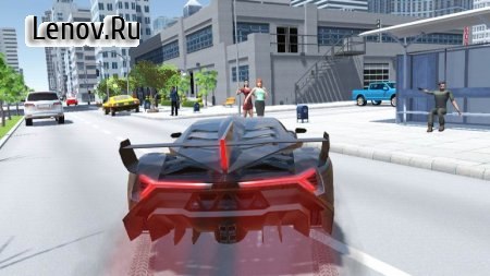 Car Simulator Veneno v 1.65 Мод (Free ads to get rewards)