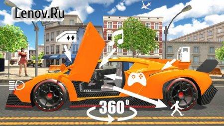 Car Simulator Veneno v 1.75 Мод (Free ads to get rewards)
