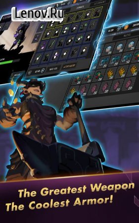 Stickman Master: League Of Shadow - Ninja Legends v 1.7.5 Mod (Gold coins/diamonds)