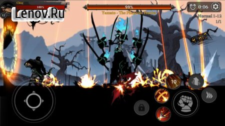 Stickman Master: League Of Shadow - Ninja Legends v 1.7.8 Mod (Gold coins/diamonds)