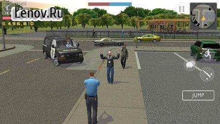 Симулятор полицейского. Война банд v 2.1.1 Мод (много денег)