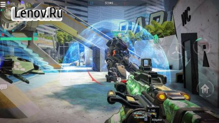 Infinity Ops: Online FPS v 1.11.0 b175 Мод (Unlimited Bullet)