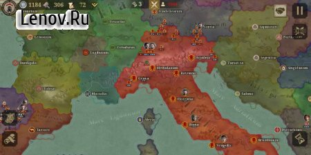 Great Conqueror:Rome v 1.4.4 Мод (Unlimited Medals)