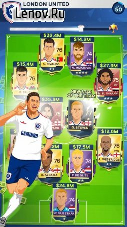 Idle Eleven - Be a millionaire football tycoon v 1.6.6 (Mod Money)
