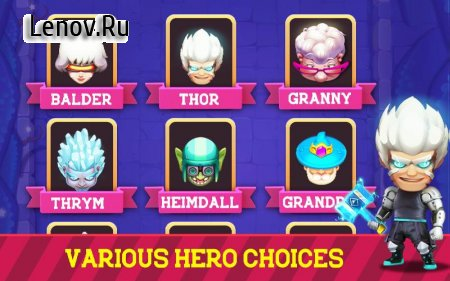 Granny Legend v 1.1.0 Мод (Unlimited money/diamond/energy)