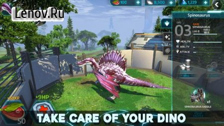 Dino Tamers - Jurassic Riding MMO v 2.13 (Mod resources)