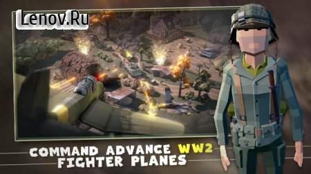 World War 2 Shooting Games: Polygon WW2 Shooter v 1.1.3 (Mod Money)