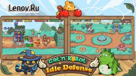 CatnRobot: Idle Defense - Cute Castle TD Game v 2.9.2 (Mod Menu)