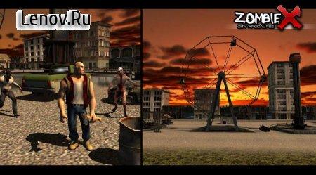 Zombie X City Apocalypse v 1.0.2 Мод (Unlimited items)