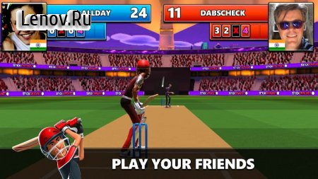 Stick Cricket Live v 1.3.2 Мод (A Lot Of Coin/Diamond)