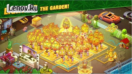 Bud Farm Idle - Growing Tycoon Garden Decor v 1.36.82 Мод (Mod Menu/Add Gold/Cash/Seeds)