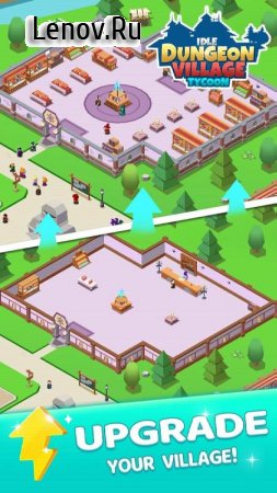 Idle Dungeon Village Tycoon - Adventurer Village v 1.4.0 Мод (Unlimited use of gold coins)